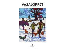 Vasaloppsaffischen vinter 2015 - På glid mot framtida segrar