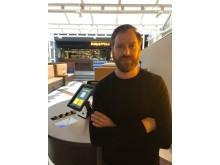 Stockholmaren Daniel Pettersson hugger sitt första direktörsjobb