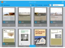 Die App HolzbauFachwissen vereint die Schriften verschiedener Informationsanbieter an einem Ort.
