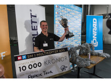 Multikopter-SM 2015: Vinnaren Fredrik Thor från Djurhamn
