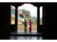 Morgan Freeman i et nepalesisk kloster