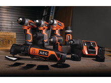AEG's 12 volt serie