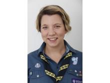 Scouten Hannah Stanton deltar i Agenda 2030 på Regeringskansliet