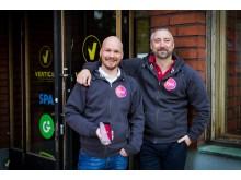 Fjuul, CTO Matti Räty & CEO Sascha Wischek