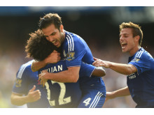 Chelsea players celebration