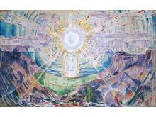 Edvard Munch: Solen, 1912-13