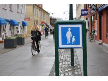 Gågata - Stenportsgatan i Lidköping