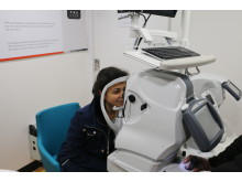 Vision Van health initiative hits Swindon, revealing ONE THIRD have never had an eye test