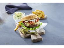 19462 Hamburgerbröd med sesamfrö
