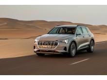 Audi e-tron (siambeige) forfra
