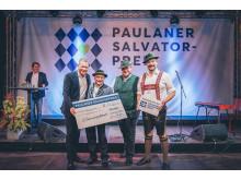 Paulaner Salvator-Preis Verleihung Schwuhplattler