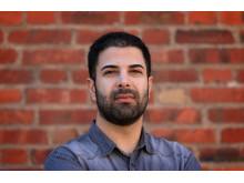 Arash Risseh, forskare på avdelningen för elkraftteknik vid KTH. Foto: Peter Larsson.