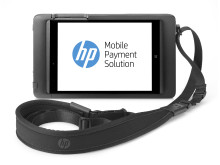 HP 8t Retail Jacket with Tablet and Shoulder Strap front facing