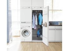 En hel tvättstuga på bara 0,72 m²...