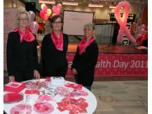 Breast Health Day 2011 - om bröstcancer på Centralen i Stockholm