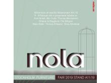 Nola Stockholm Furniture Fair 2019