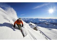 Davos Klosters: Freerider im Gebiet Parsenn