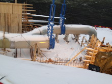 Nytt krafverk ved Gåseflåa Dam