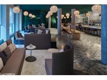 """Lobby und Bar in Bergens erstem Designhotel """"Zander K"""""""