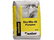 weber dry-mix 85 - förpackning