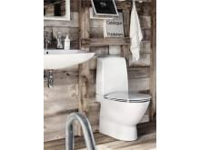 Ifö Spira Art WC golvmodell