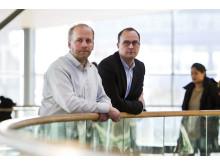 Martin Fransson och Johan Quist, lektorer i företagsekonomi