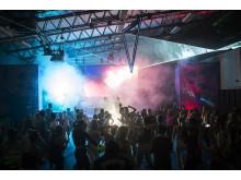 Daybreakers morgondisco på Gather 2018