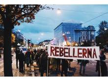 Demonstration Rättvis Forumteater