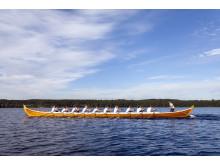 Kyrkbåtsrodd på SIljan