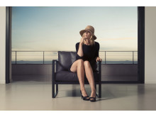 Monaco Lounge Chair Black