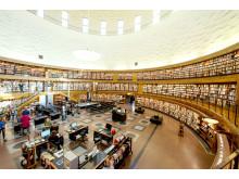 Stockholms Stadsbibliotek rotunda