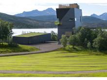 Das Hamsun-Center, eine nordnorwegische Kultur-Ikone