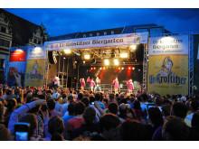 Leipziger Stadtfest, Ur-Krostitzer-Bühne auf dem Markt