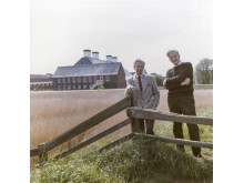 1969 - With Pears at Snape Maltings - photo by Hans