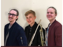 Unga solister i Kristianstad Stadsmusikkår