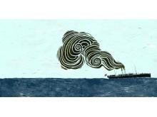 Båten Elefantmannen reiste med tilbake til England