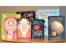 Inge Duelund Nielsens barnböcker FRI ANVÄNDNING Foto: Högskolan Kristianstad