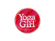 Yoga Girl Coral logo badge