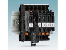 Strømindikatorklemme med Push-in tilslutning
