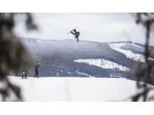 Fridtjof Sæther Tischendorf (18) er klar for X Games Oslo. Foto: Glenn C. Pettersen / Snowboardforbundet