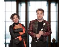 Anna Paradiso och Dan Laurin