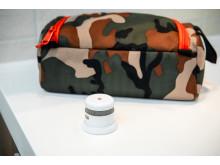 En reiserøykvarsler tar liten plass, men gir en ekstra sikkerhet på reise.