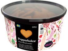"""Nyheter till julen – """"alla hjärtans dagar""""  Pepparkakor utan tillsatt socker"""