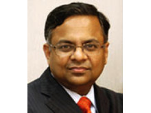 N. Chandrasekaran, CEO and managing director of Tata Consultancy Services