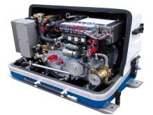 High res image - Fischer Panda - The compact Fischer Panda AGT 4000PMS DC generator