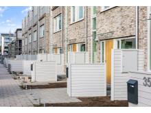 Nya småhusområdet i Lilla Sköndal är slutsålt, exteriör