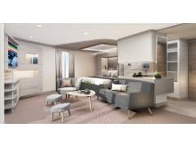MS Fram - refurbished Corner Suite view 1