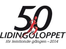 Lidingöloppet 50 lopp - Logotyp