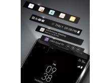 LG V10 - second screen