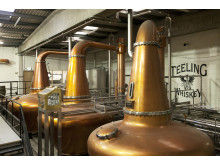 Teeling Whiskey Destillery - Spirit of Dublin kopparpannor
